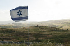 Israel-Jordan border Stock Photo