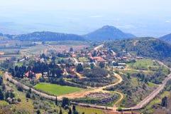 israel krajobraz Zdjęcia Royalty Free