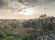 Israel Landscape Royaltyfria Bilder