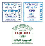 israel lebanon Arkivfoto