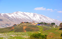 israel liggande Arkivfoto