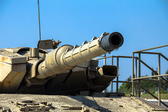 Israel machte Hauptpanzer Merkava M III Latrun, Israel Lizenzfreies Stockbild