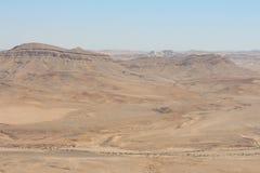 Israel - Makhtesh Ram?n Fotografía de archivo