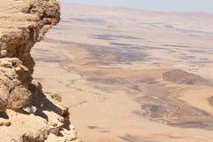 Israel - Makhtesh Ram?n Fotos de archivo libres de regalías