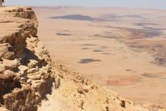 Israel - Makhtesh Ramon Stockbild