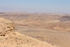 Israel - Makhtesh Ramon Stock Images