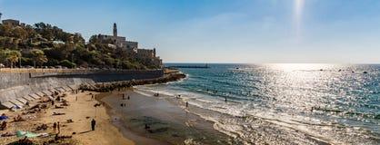 Israel, mar Mediterráneo, Jaffa viejo, San Pedro Imagenes de archivo