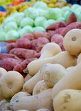 Israel market produce: colorful fresh bell peppers Stock Photography