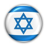 Israel-Markierungsfahne Stockfoto