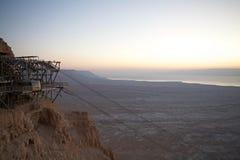 Israel Masada lizenzfreies stockbild