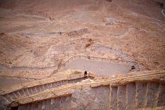 Israel Masada Arkivfoto