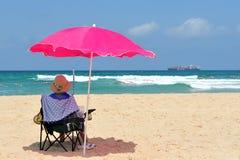 Israel  Mediterranean Sea Coastline Stock Photo