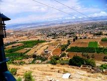 Israel Mellanösten, Jericho, montering av frestelsen royaltyfria bilder