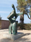 Israel. Modern sculpture in Yaffo Royalty Free Stock Images