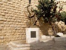 Israel. Monument to the tsar David in Jerusalem Stock Photos