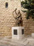 Israel. Monument to the tsar David in Jerusalem Stock Photo