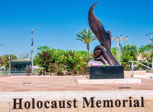 Israel Monumento del holocausto en cerveza-Sheva Fotos de archivo libres de regalías