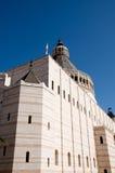 Israel Nazareth. Iglesia del anuncio. foto de archivo