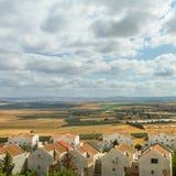 israel nordligt landskap Arkivfoton