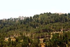 Israel. Outskirts of Jerusalem. Western part of Jerusalem city Royalty Free Stock Photos