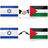 Israel and Palestine Stock Image