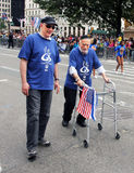 Israel parade 2011. Stock Image
