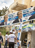 2015 Israel Parliamentary Elections Royalty-vrije Stock Foto's
