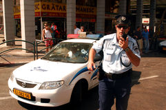 Israel Police Royalty-vrije Stock Afbeelding