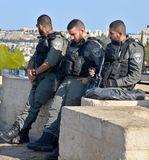 The Israel Police Stock Images