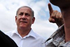 Israel Prime Minister - Benjamin Netanyahu Royalty-vrije Stock Afbeeldingen