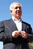 Israel Prime Minister -  Benjamin Netanyahu Stock Images
