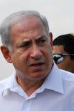 Israel Prime Minister -  Benjamin Netanyahu Stock Photo