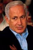 Israel Prime Minister -  Benjamin Netanyahu Stock Image