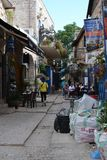 Israel ancient jewish city of Safed and Gamla fortress, Galilee royalty free stock image