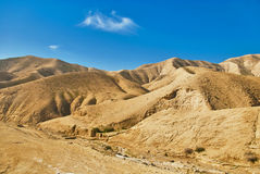 Israel. Sandy mountains Stock Image