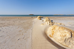 Israel Shore of the Mediterranean Sea Stock Photo