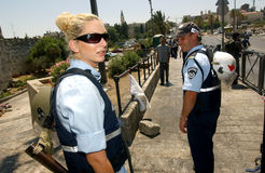 ISRAEL-SOLDATEN Stockfotos