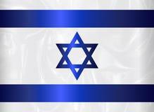 Israel Star Of David Flag illustration de vecteur