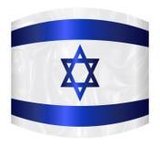 Israel Star Of David Flag a tordu illustration de vecteur