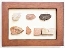 Israel Stones incorniciato Fotografia Stock Libera da Diritti