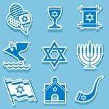 Israel symbol Royaltyfri Bild