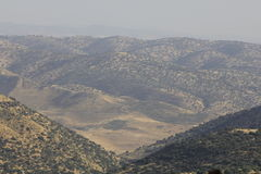 Israel and Syria Border Stock Photography