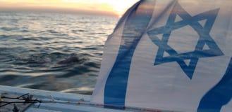Israel-Team im englischen Kanal lizenzfreie stockfotos
