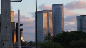 Israel Tel Aviv. The second largest in Israel 432 892 people by 2016, the country`s economic and cultural center. It was formed in April 1950 by the merger of royalty free stock image