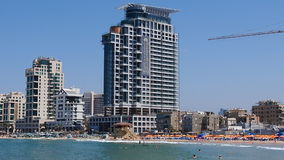 Israel Tel Aviv. The second largest in Israel 432 892 people by 2016, the country`s economic and cultural center. It was formed in April 1950 by the merger of stock photography