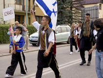 Israel traditional folk group Stock Images