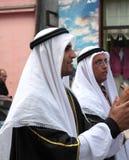 Israel traditional folk group Stock Photo
