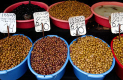 Israel Travel Photos - Markets Stock Photo