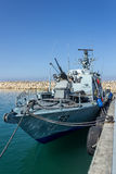 Israel War Ship Stock Photography