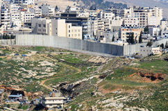 Israel-West- Banksperre lizenzfreie stockbilder